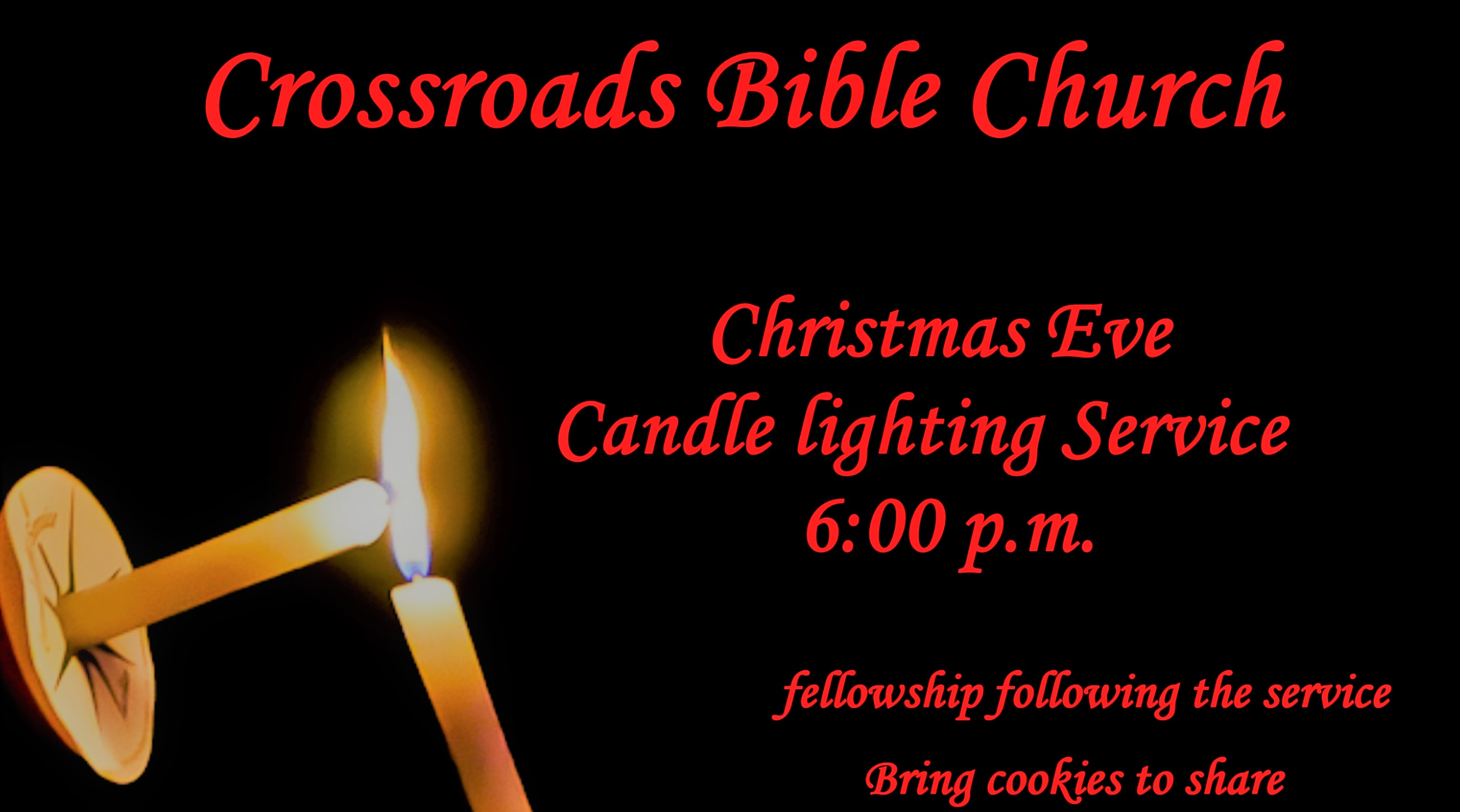 cjhrs  sc 1 st  Crossroads Bible Church : candle lighting service - azcodes.com